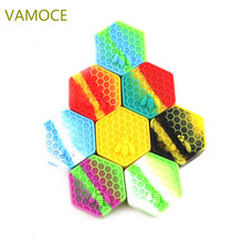 Electronic Cigarette Accessory Honeybee Hexagon Shape Container for all oil, shatter, wax, and other essential oils