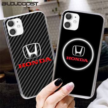 Car Brand Honda Luxury Phone Case For Iphone12 11 Pro 12 11 Pro Max X XR XS MAX 7 8 Plus 6s Plus 5s 2020 Se Cover image
