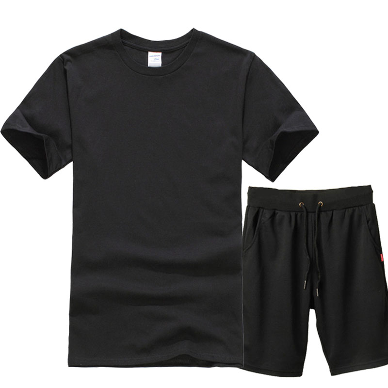 Suits T-Shirt Shorts Hipster Cool-Tops Funny Men's Fashion Summer O-Neck Lastest New