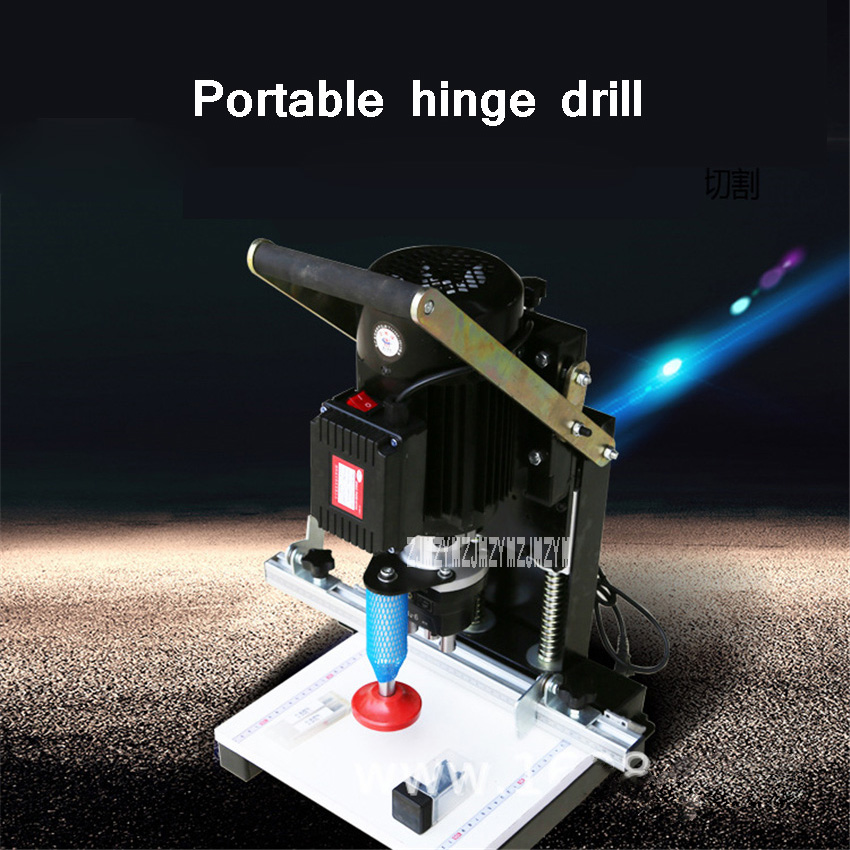 Portable Drilling Hole Machine Cabinet Furniture Plate Drill Hole Punching Machine Hinge Drilling Machine 220V 1100W 2840r/min|Electric Drills| - AliExpress
