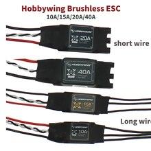 Hobbywing XRotor Bürstenlosen ESC 2-6 S 10A 15A 20A 40A SimonK Keine BEC Hohe Aktualisierungs für 4- achse 6-Achse Multi-Achse Elektrische Einstellung