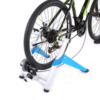 Professional Magnetic Indoor Bicycle Bike Trainer Exercise Stand 6 levels of Resistance Foldable Aluminium Alloy Bike Trainer