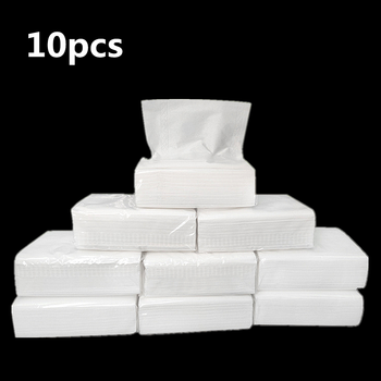 10pcs 3-layer Toilet Napkin Paper Thickened Paper Napkins Tissues Wood Pulp Paper Soft Disposable Napkins for Restaurant Hotel vintage printed rose flower dragonfly paper napkins for event