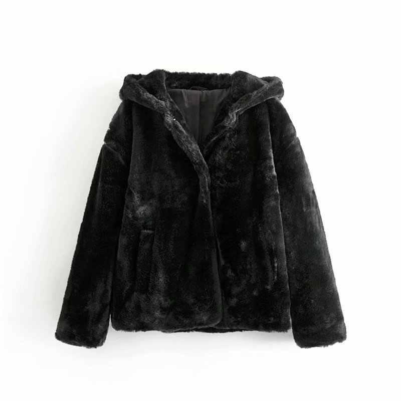 25ryy 7392 западный стиль женское платье 2019 зима новый сплошной цвет свободный крой