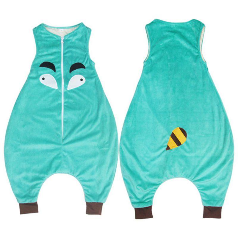 Kids Baby Sleeping Bag Cotton Long Sleeve Sleeping Clothes Children Owl Dinosaur Sleep Sack Sleepwear Clothes