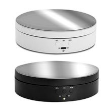 High Power Electric Rotating Mirror Jewelry Display Stand Base Jewelry Organizer Turntable Jewellery Packaging Display Jewelry