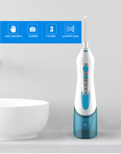 4 Tips Oral Irrigator Dental Portable Water Flosser USB Rechargeable Water Jet Flosser IPX7 Irrigator Dental Cleaning Teeth цена и фото