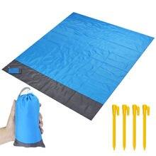 Водонепроницаемое пляжное одеяло портативный коврик для пикника