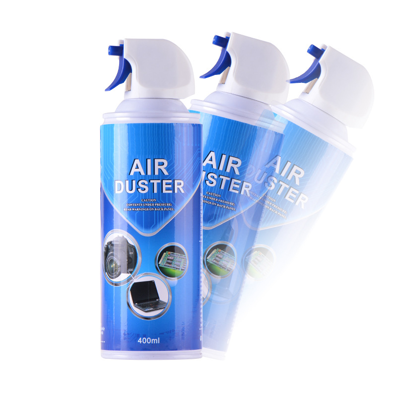 Notebook Computer Fan Dust Cleaner Compressed Air Body Cleaner Canned Environmentally Friendly Air Dedusting Agent