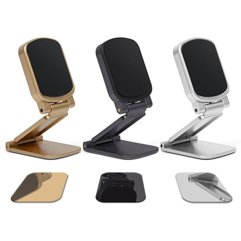 Mobile phone stand Cellphone Stand Magnet Car Holder Foldable Universal For Phone Lazy bracket Magnetic phone holder Desktop