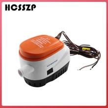 HCSSZP 750GPH Automatic Boat Bilge Pump 12V DC Submersible Electric Water Pump Small 12 v volt 750 gph for Marine Boat