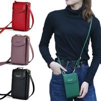 PU Luxury Handbags Women's Bags for Woman 2020 Ladies Hand Bags Women's Crossbody Bags Purse Clutch Phone Wallet Shoulder Bag 1