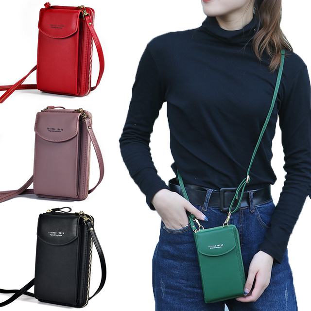 PU Luxury Handbags Women's Bags for Woman 2020 Ladies Hand Bags Women's Crossbody Bags Purse Clutch Phone Wallet Shoulder Bag 1