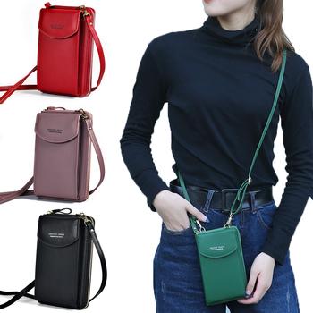 PU luksusowe torebki torby damskie dla kobiet 2020 torebki damskie torebki damskie Crossbody torebka Clutch etui na telefon torba na ramię tanie i dobre opinie Flap Torby na ramię Na ramię i torby crossbody CN (pochodzenie) zipper HARD NONE Na co dzień W531 Poliester Versatile