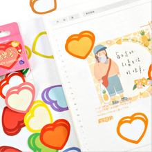 20 коробка за лот полосатого рисунка «любящее сердце» Форма