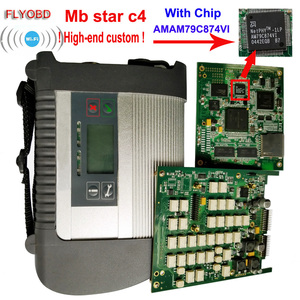 Image 1 - 2020.09 Best Quality MB Star C4 with ADG426 &AM79C874VI Chip MB STAR SD Connect C4 Compact 4 Diagnostic Tool with WIFI Function