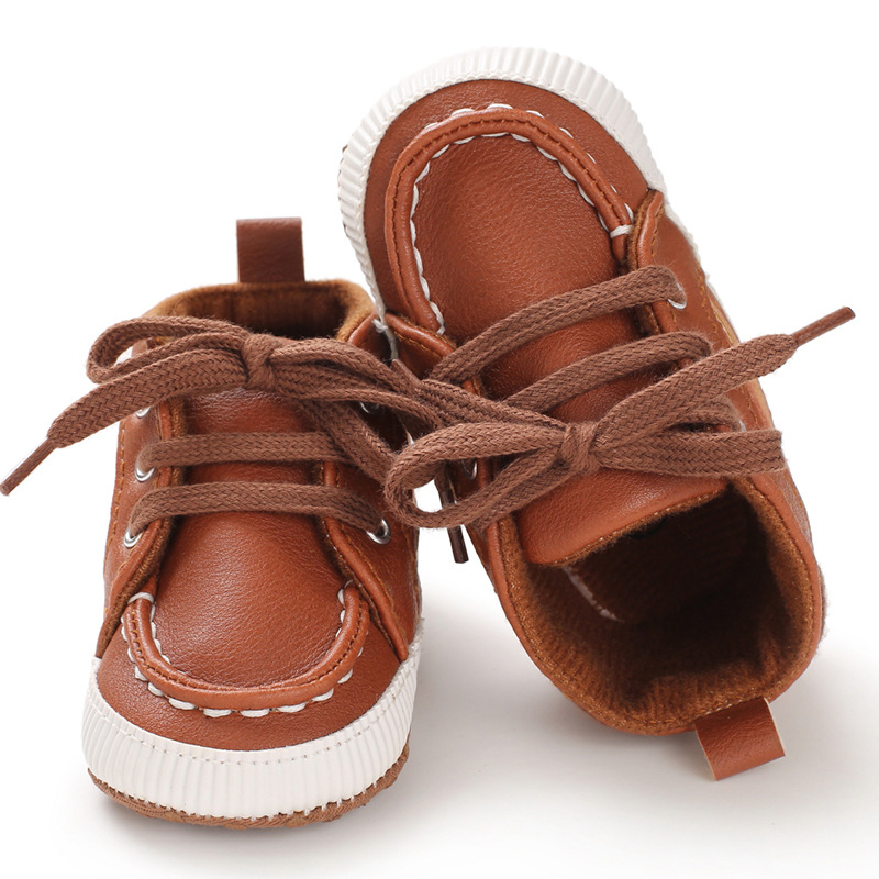 Infant Baby Boys Shoes Soft Sole Kid Crib Casual Sneaker Baby Shoes Boy 0-18 Months Toddler Tennis Shoe