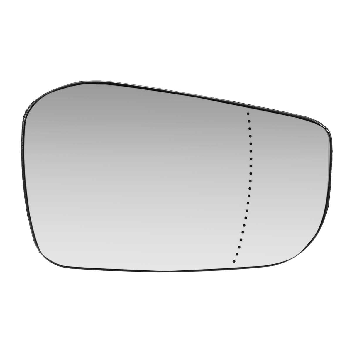 Left Side Wide Angle Heated Mirror Glass for Volvo V70 2000-2003 0037LASH