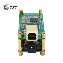 TZT עבור Amanero ממשק + ES9038Q2M אודיו מפענח לוח אודיו HiFi USB כרטיס קול תמיכה DSD256 PCM 384Khz