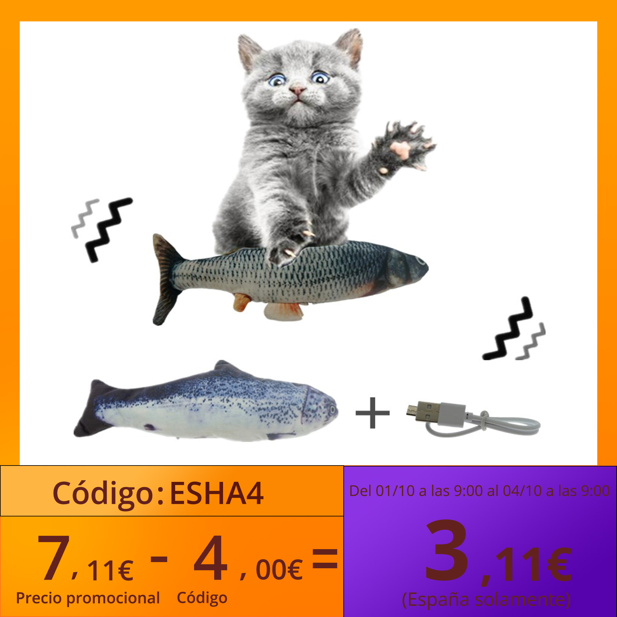 30CM juguete gato USB carga eléctrica de baile saltando moviéndose disquete pez gato juguete para gatos juguetes interactivos Hotsale Juguetes para gato  - AliExpress