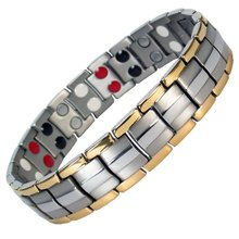Black Magnetic Bracelets for Men Arthritis Relief Pain Healt