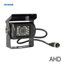 DIYSECUR AHD 4PIN 12V DC Kamera Wasserdichte Van Bus Lkw Auto Rückansicht der Parken Kamera IR Nacht Vision