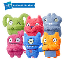 Hasbro Ugly Dolls To-Go Stuffed Plush Toys For Kids Wage Babo Lucky Bat Moxy Family Party Children Birthday UglyDolls 5'' tall(China)