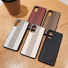 For Samsung S9 S10 S20 Plus S20 Ultra Pu Leather Case For Samsung Galaxy Note 8 9 10 Plus Rivet Fashion Protect Case Cover цена 2017
