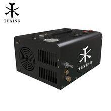 TUXING TXET061 4500Psi 300Bar 12V PCP sprężarka powietrza pompa wysokociśnieniowa sprężarka transformator pneumatyczny karabin Inflator