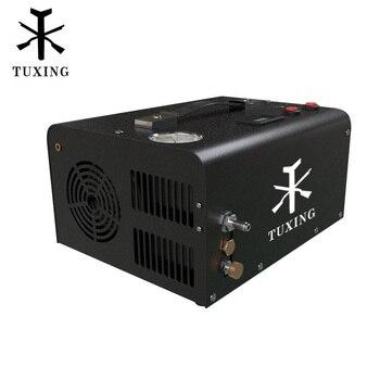 TUXING TXET061 4500psi 300bar 12V PCP compresseur dair haute pression pompe compresseur pour pistolet pneumatique PCP Air fusil gonfleur