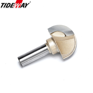 Image 3 - Tideway Woodworking Round Cove Bit Tungsten Carbide Professional Grade Router Bits for Wood 1/2 1/4 Inch Shank Milling Cutter