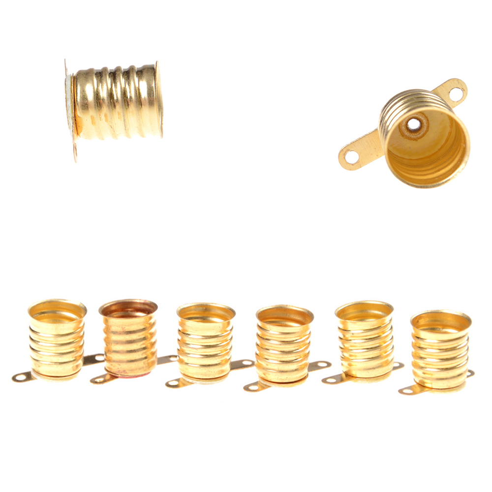 5PCS/lot <font><b>E10</b></font> Lamps Base Holder <font><b>Bulbs</b></font> Light Base <font><b>Socket</b></font> Home Experiment Circuit Electrical Test Accessories image
