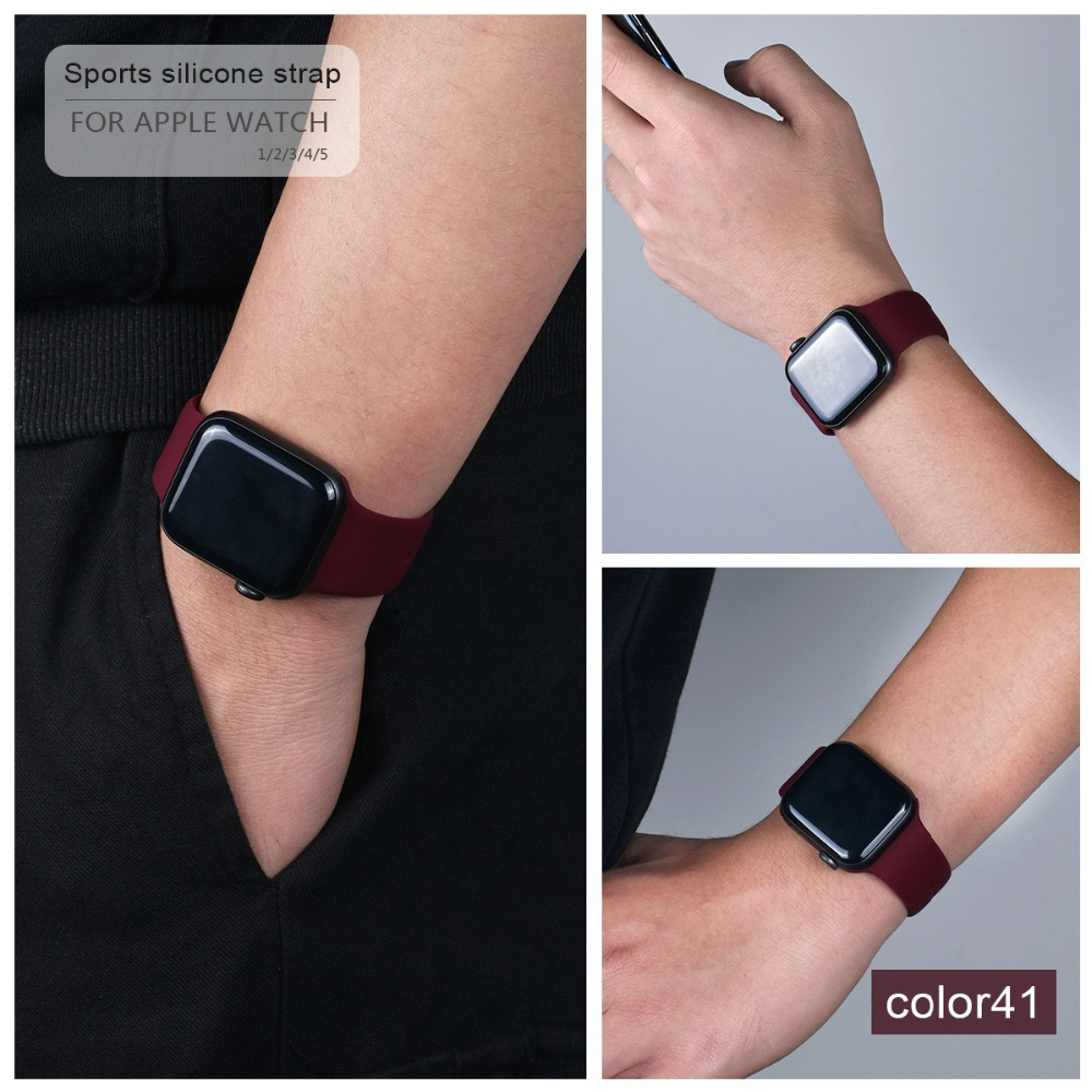 Soft Silicone Band for Apple Watch 121