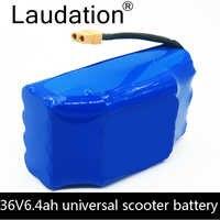 """Laudation 36V 6.4Ah 6400 mAh haut drain 2 roues, scooter électrique équilibrage batterie au lithium pour auto-équilibrage fit 6.5 """"7"""""""