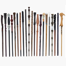 58 Kinds of Magic Wands Cosplay  Dumbleduo Voldmort Snape Metal/Iron Core Гарри Поттер Magic Wand Without Box toys for children