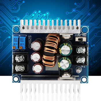 цена на 300W DC-DC 20A Buck Step Down Module Board Constant Current Adjustable  Car Charging Module LED Driver Power Step Down Voltage