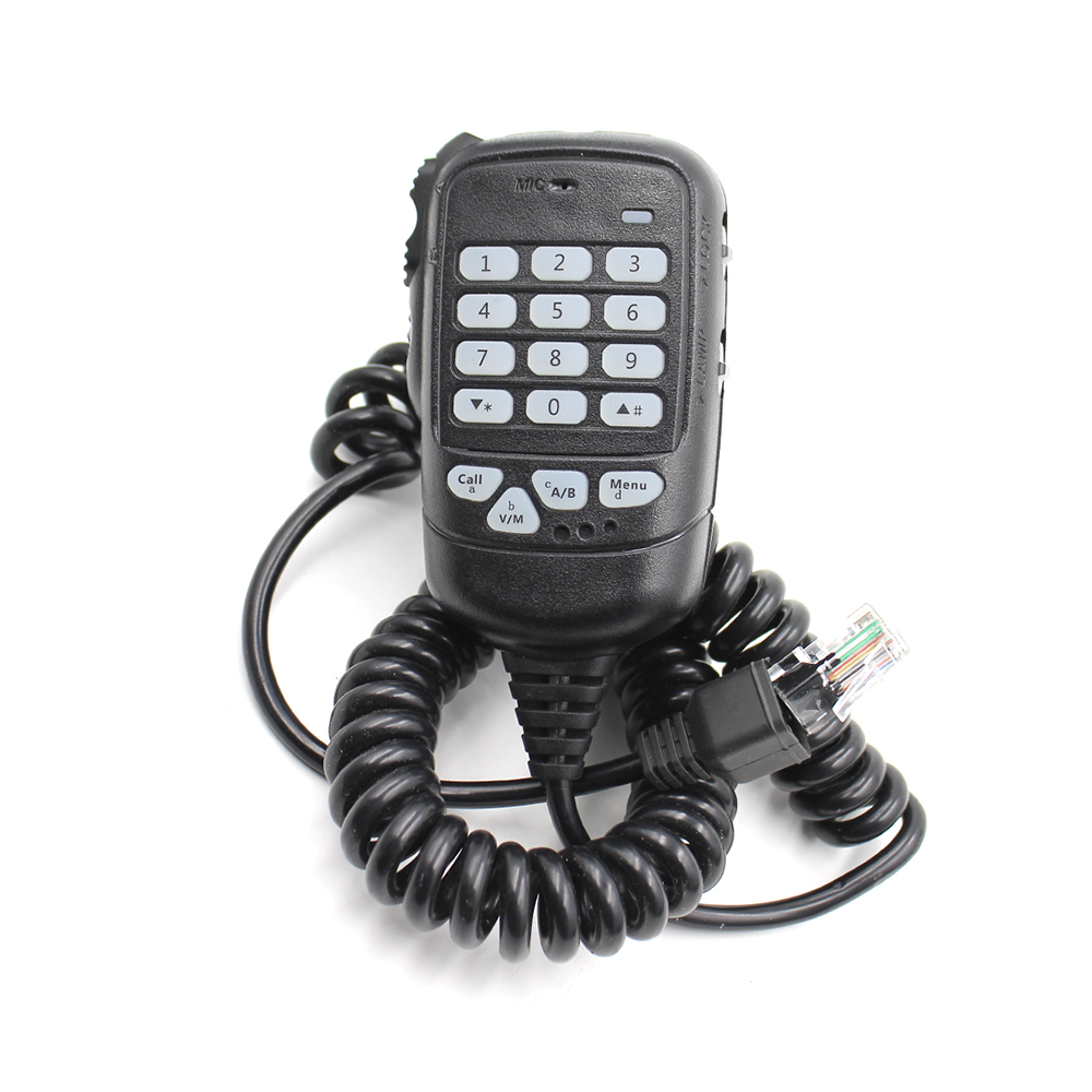 New Dual PTT Microphone Fit For Leixun Mobile Radio VV-898S VV-998 VV-898SP Walkie Talkie