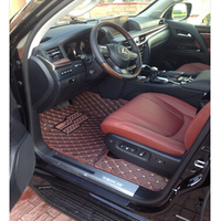 lsrtw2017 leather car interior floor mats for lexus lx570 lx 570 1998 2020 2012 2013 2014 2015 2016 2017 2018 2019 2020 carpet