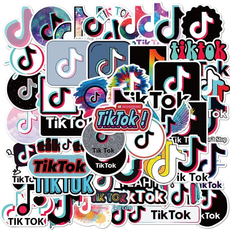 50CS Горячие Logiciel видео Тикток ПВХ Канцелярские Стикеры s наклейки для телефона ноутбука забавные граффити наклейки s наклейки детские игрушки наклейки|Наклейки| | АлиЭкспресс