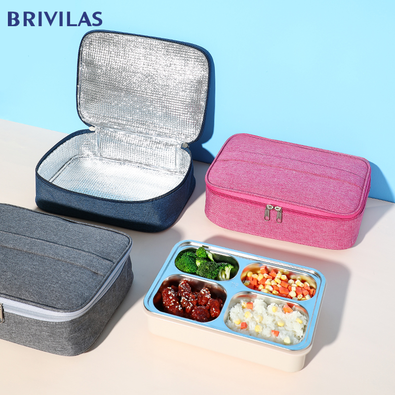 Brivilas Cation Lunch Box Hand Portable Cooler Food Bag  Storage Waterproof Travel Picnic Breakfast Thermal Case Unisex New 2020
