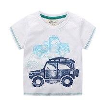 Футболка для маленьких детей с фабрики; детская футболка импортные товары; стиль; детская футболка Топ с короткими рукавами и принтом
