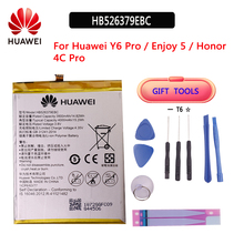 Original 4000mAh HB526379EBC Battery For Huawei Y6 Pro Enjoy 5 HONOR 4c pro TIT-L01 TIT-TL00 -CL00 TIT-CL10 Batterie Tools цена 2017