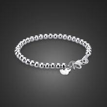 Оригинальный простой браслет из 100% стерлингового серебра 925