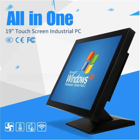 mini computador industrial do tela tactil de 12 polegadas com brilho