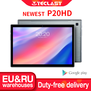 Teclast P20HD Tablet 10.1 inch IPS Android 10 Tablette 1920x1200 4GB RAM 64GB ROM Tablets PC SC9863A Octa Core 4G LTE Tabletas