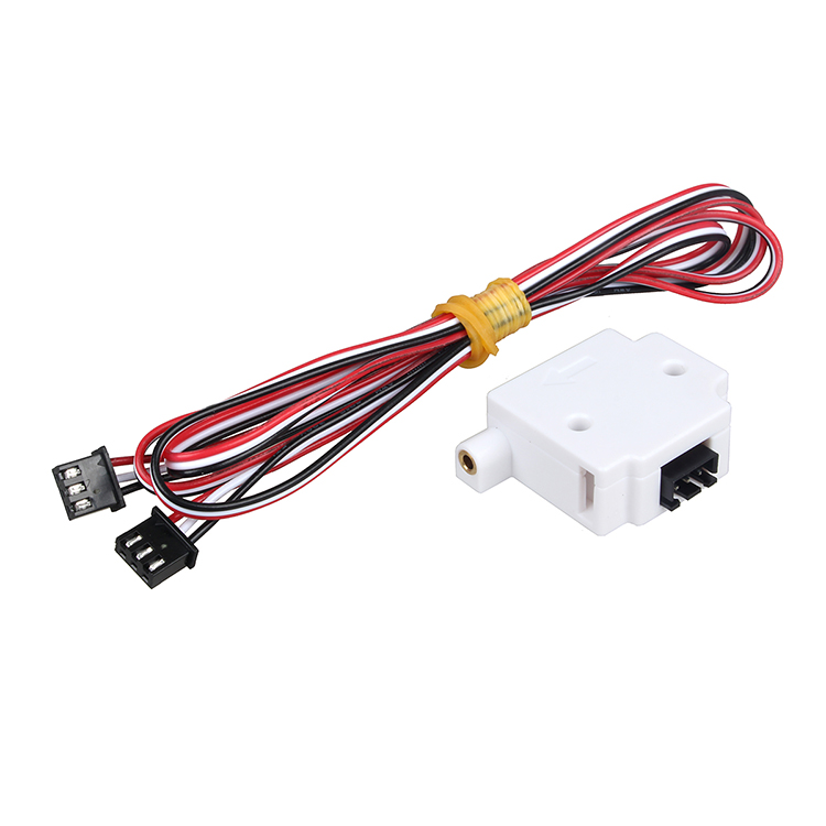 Filament Sensor Material  Run-out Detection Monitor 1.75 PLA ABS Sensor Module Outage Alarm Monitoring Endstop 3D Printer Device