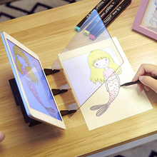 Transparent Sketch Board Optical Imaging Picture Imaging Drawing Board Sketch Reflection Copy Table Projection Board Plotter стоимость