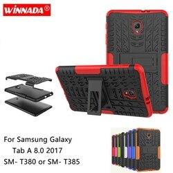 Coque en TPU + PC, protection antichoc pour tablette, pour Samsung galaxy Tab A 8.0 2017, blindage pour Samsung sm-t380 T385