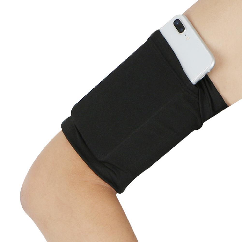 Cell Phone Bag Armband Outdoor Running Universal Phone Case Bag Hight Elastic Jogging Cellphone Arm Band Women Men's Sportswear