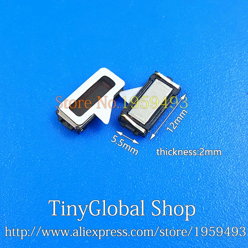 2pcs/lot Coopart New Ear Speaker Earpiece Parts Replacement For BlackBerry KeyTwo Key2 Top Quality